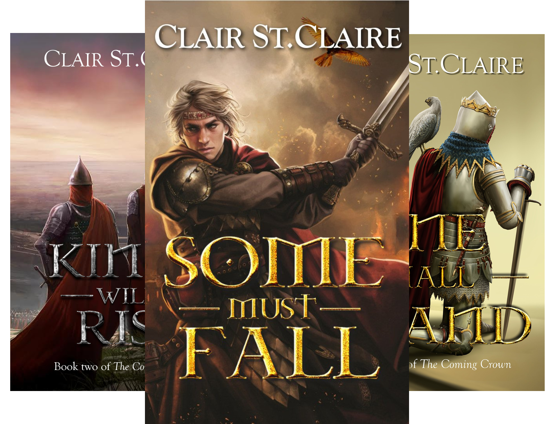 The Coming Crown (3 Book Series)