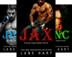 A Cocky Cage Fighter Novel (4 Book Series) by  Lane Hart