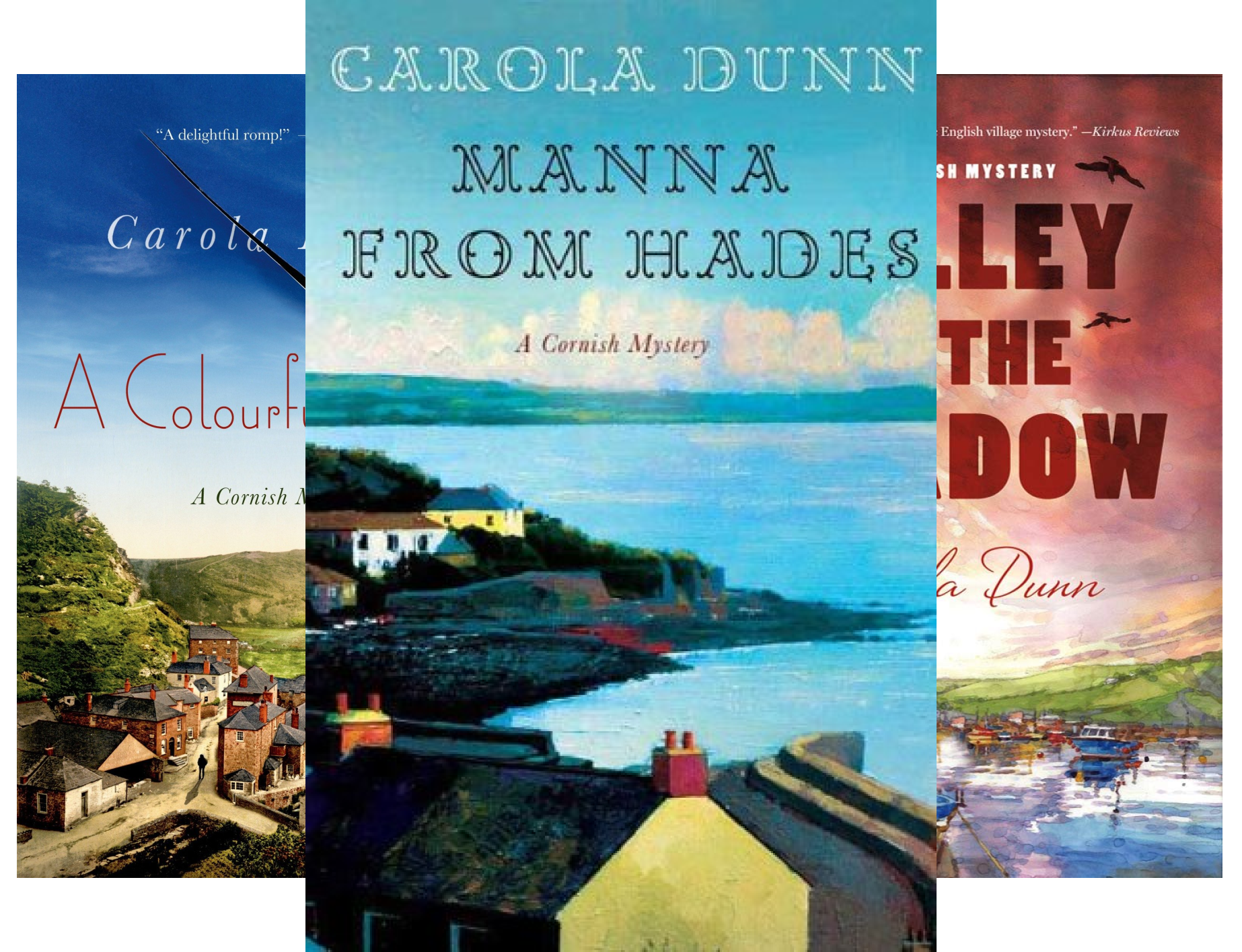 Cornish Mysteries (4 Book Series)