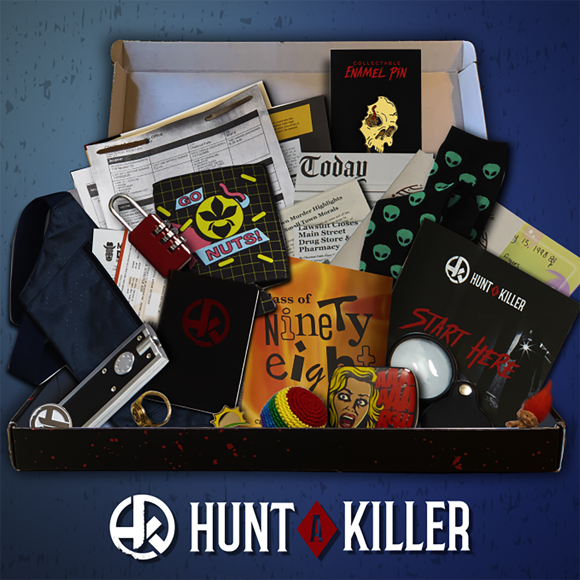 Hunt A Killer - Immersive Murder Mystery Subscription Experience