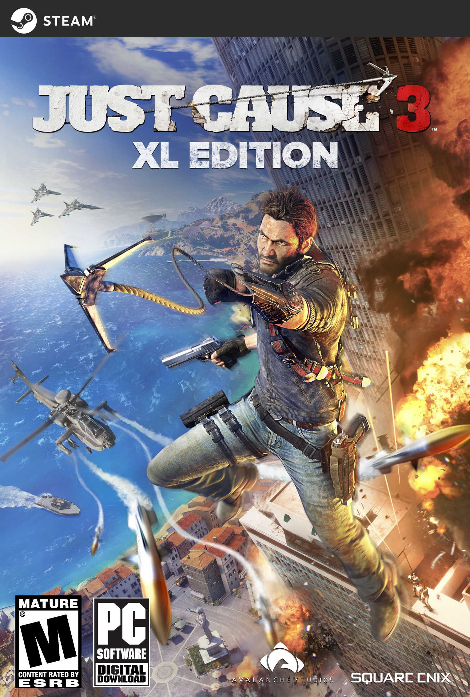 Just Pc (Just Cause 3 XL Edition [Online Game Code])