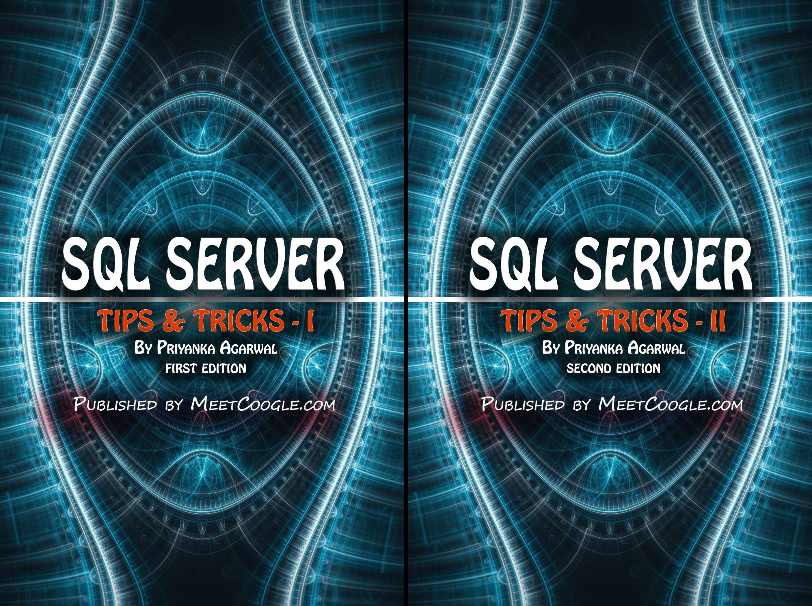 SQL Server Tips and Tricks (2 Book Series)