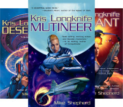 Kris Longknife Series (14 Book Series) by  Mike Shepherd