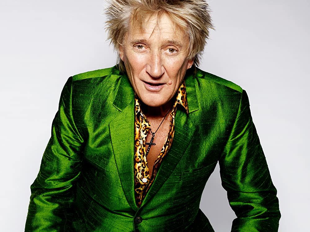 Rod Stewart on Amazon Music