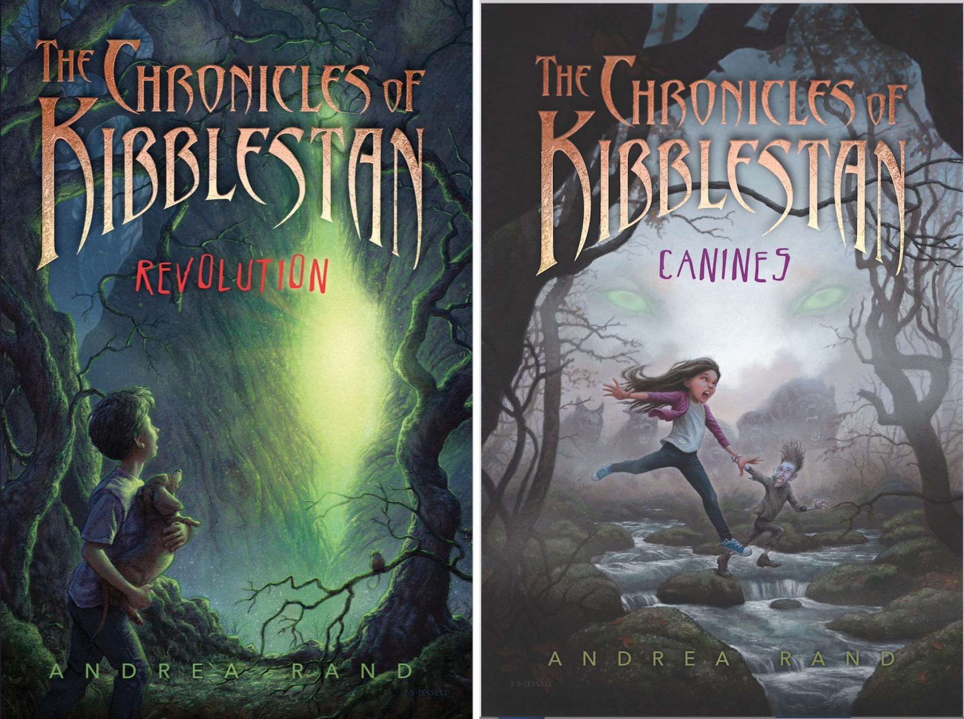 The Chronicles of Kibblestan (2 Book Series)