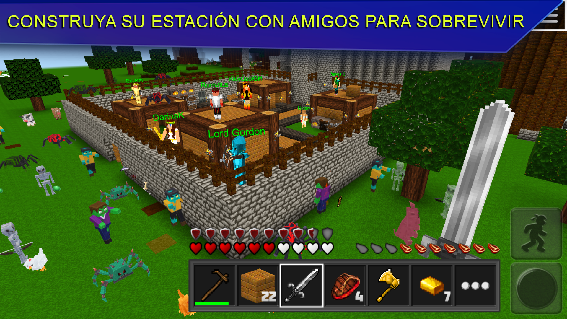 Planet of Cubes Survival Craft: Amazon.com.br: Amazon Appstore