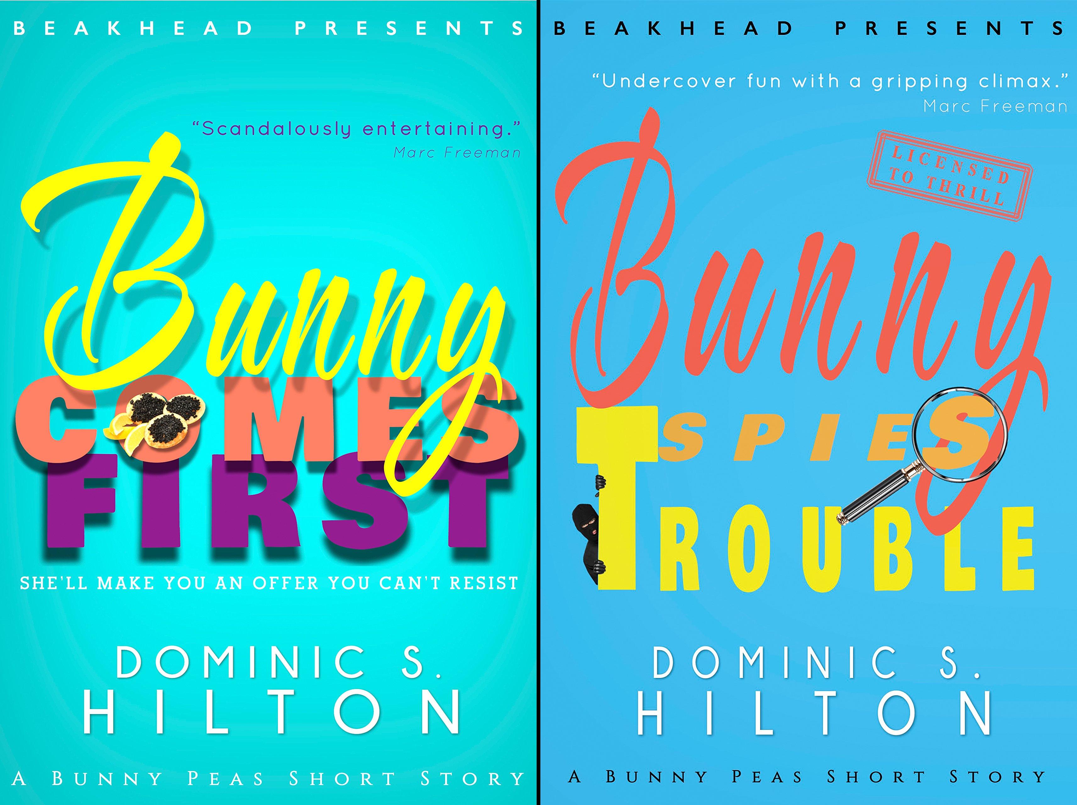 Bunny Peas Screwball Comedies (2 Book Series)