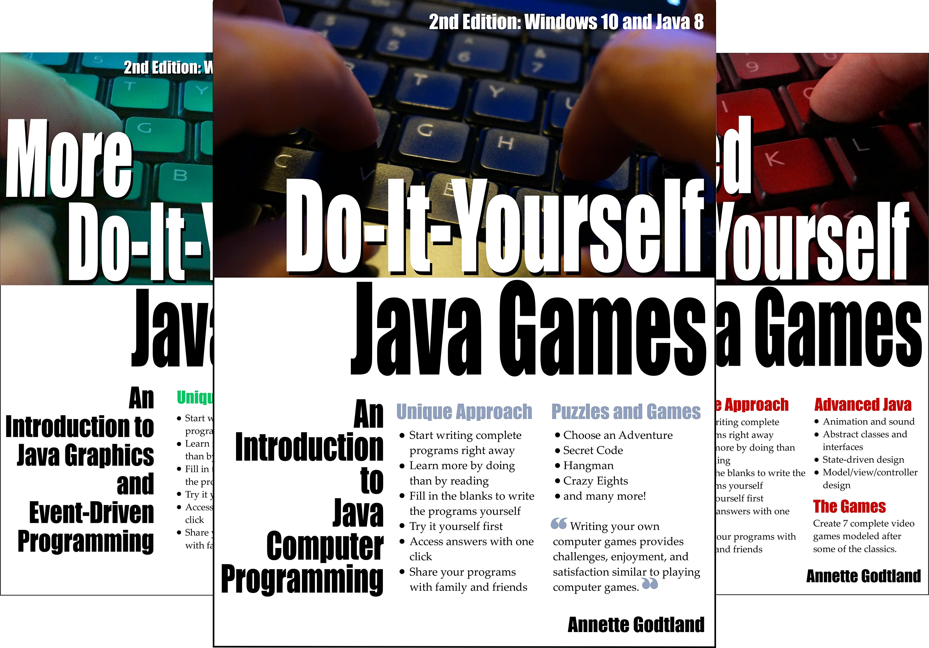 Do-It-Yourself Java Games (3 Book Series)