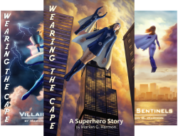 Wearing the Cape Series (6 Book Series) by  Marion G. Harmon