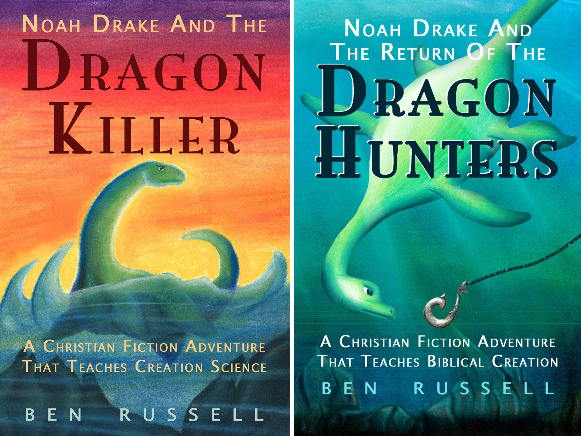 Noah Drake And The Dragon (2 Book Series)