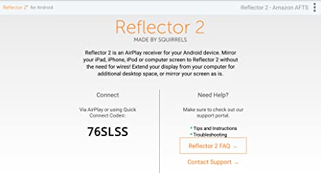 Amazon com: Reflector 2 - AirPlay Receiver: Appstore for Android