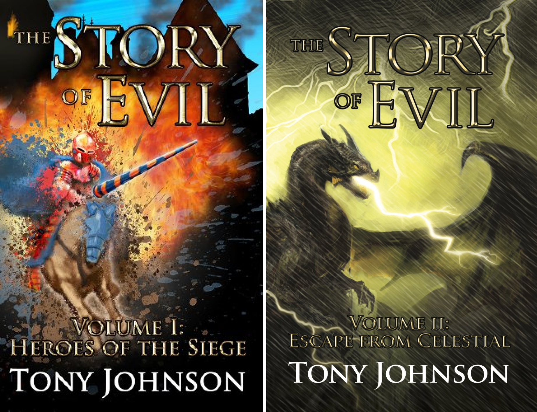 The Story of Evil (2 Book Series)