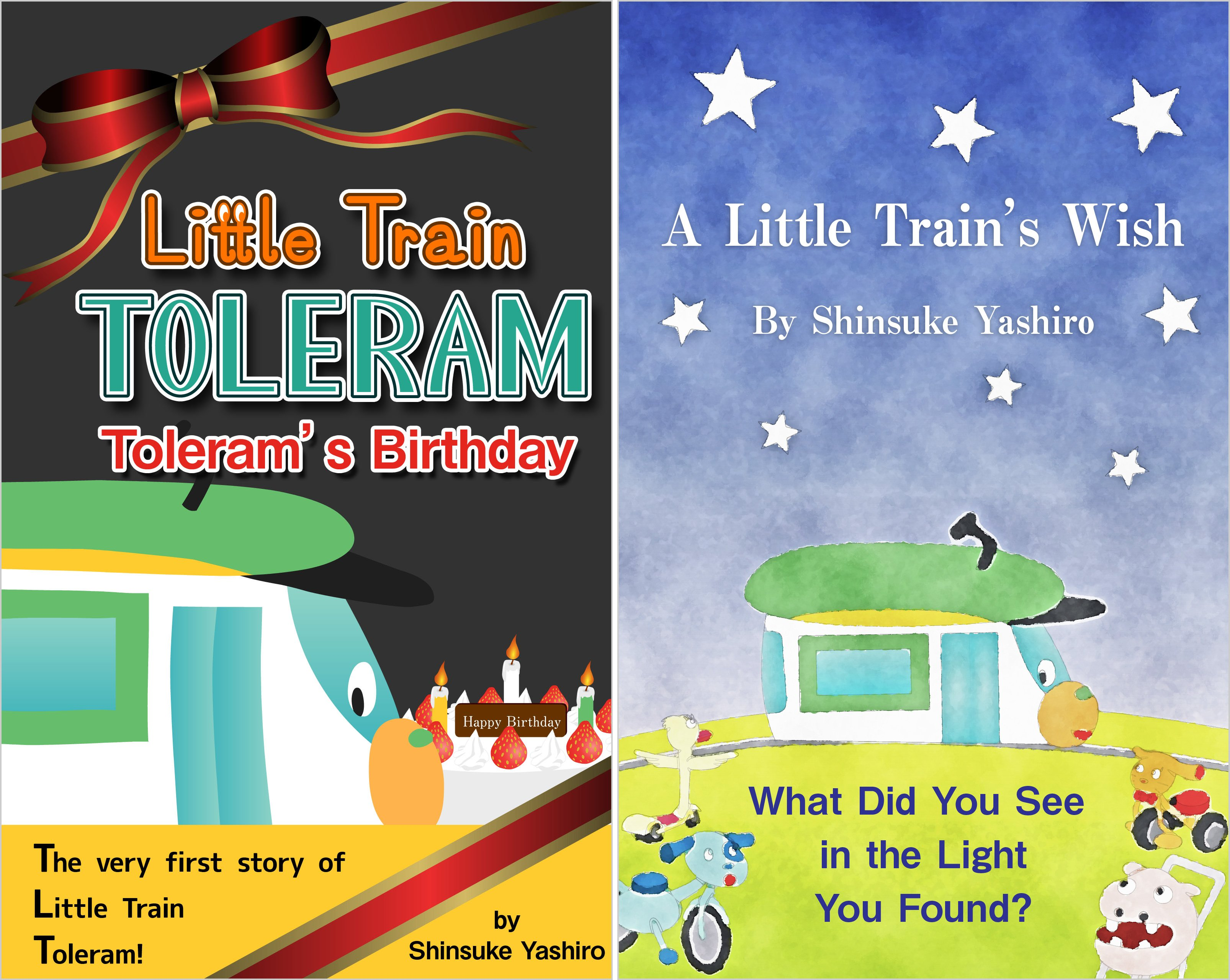 Little Train TOLERAM (2 Book Series)