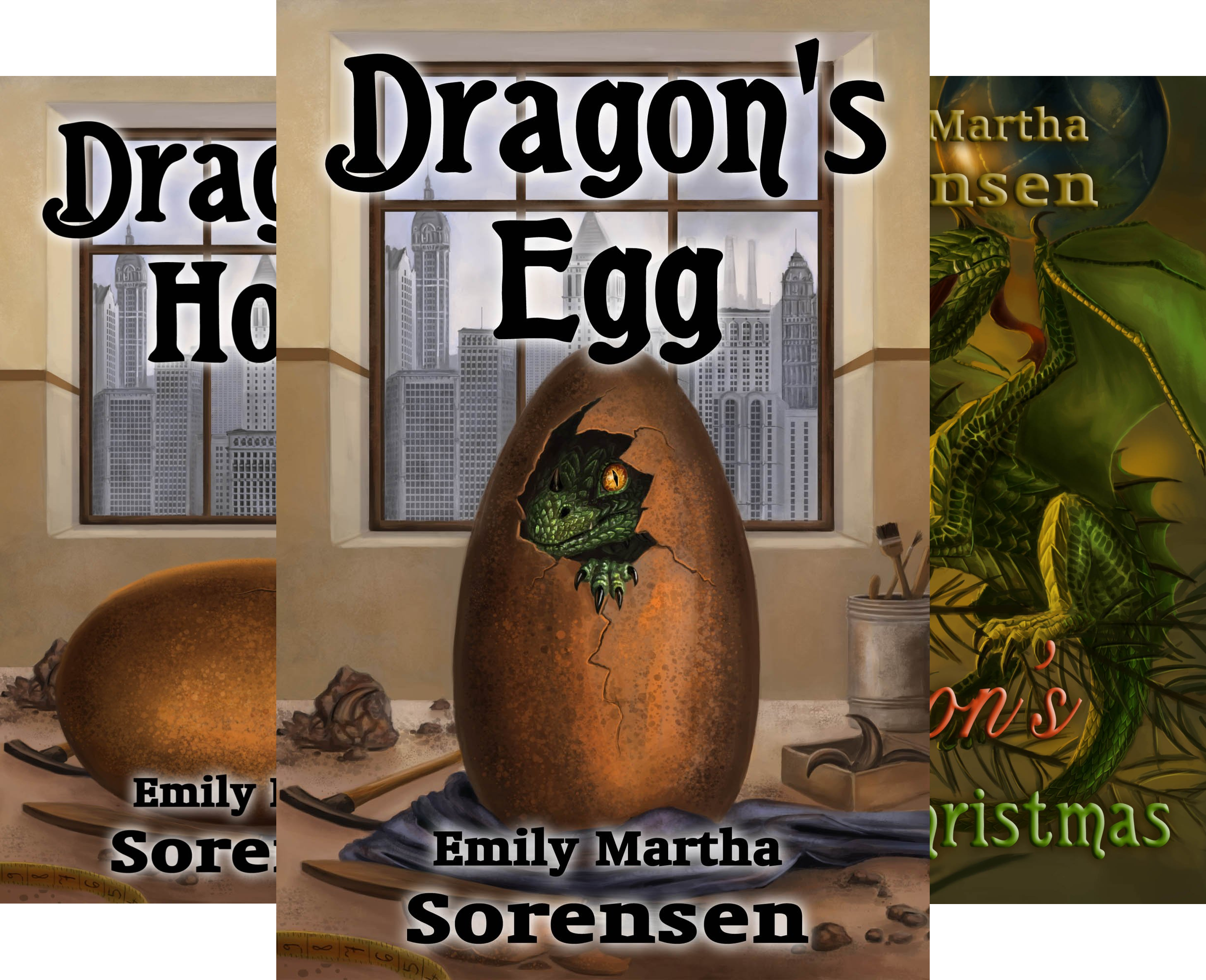 Dragon Eggs (4 Book Series)