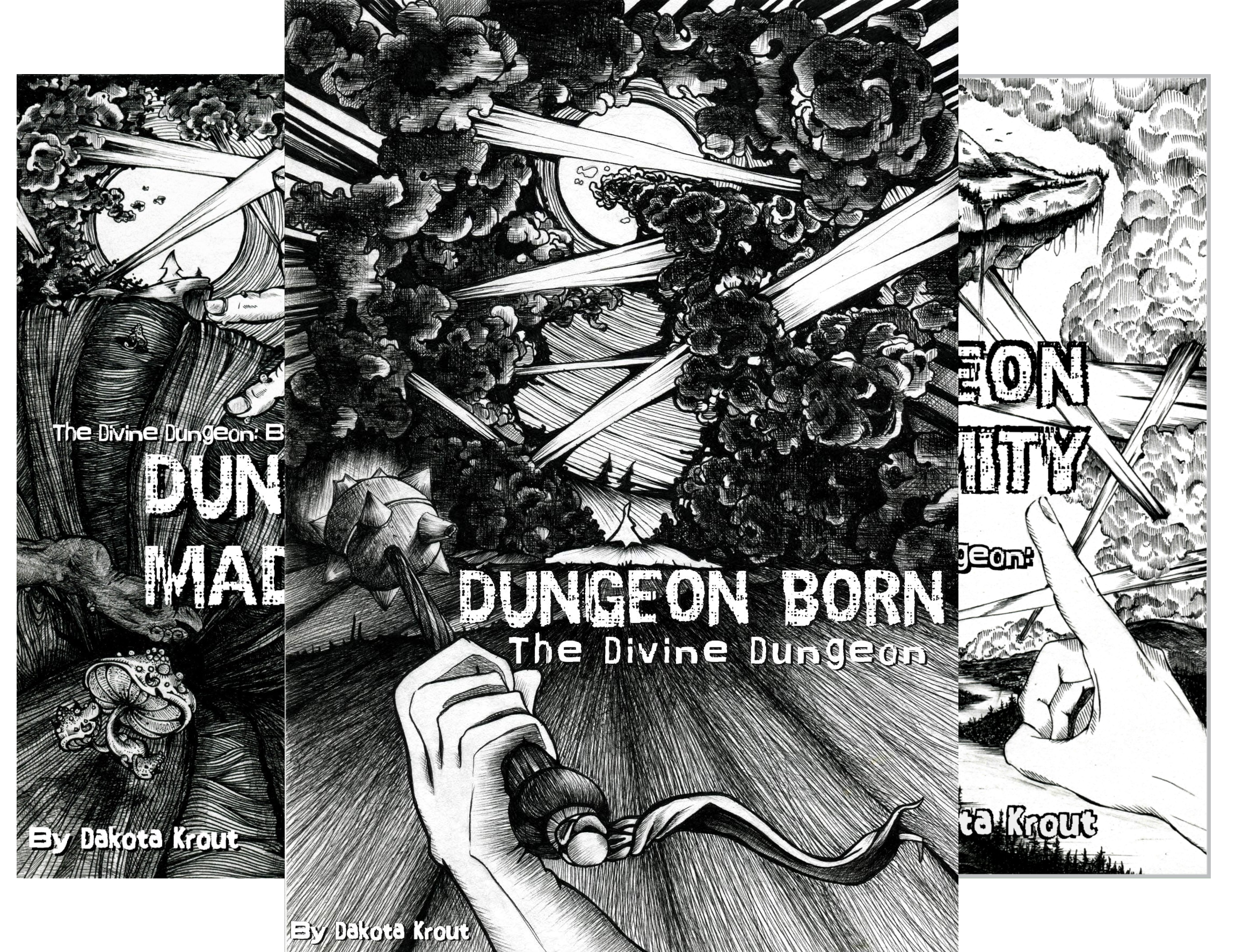 The Divine Dungeon (4 Book Series)