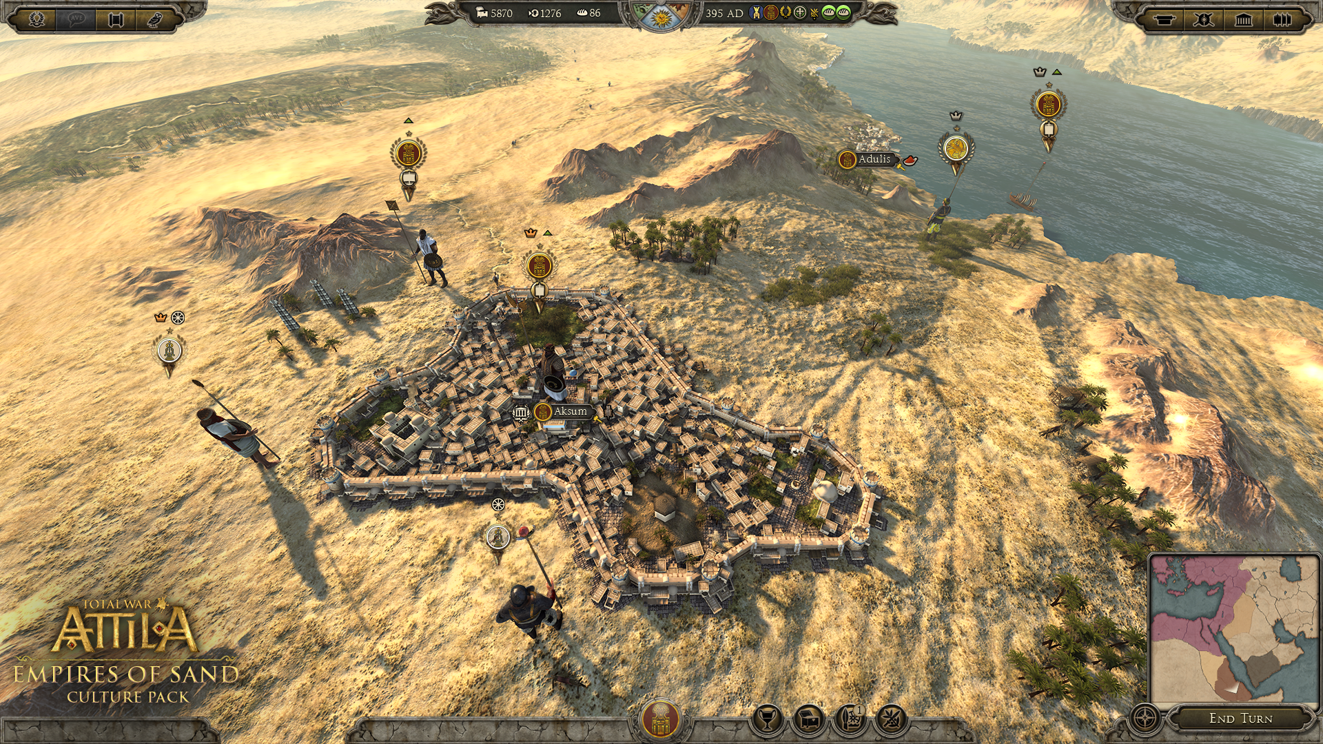 Total War: ATTILA - Empires of Sand Culture Pack [PC Code