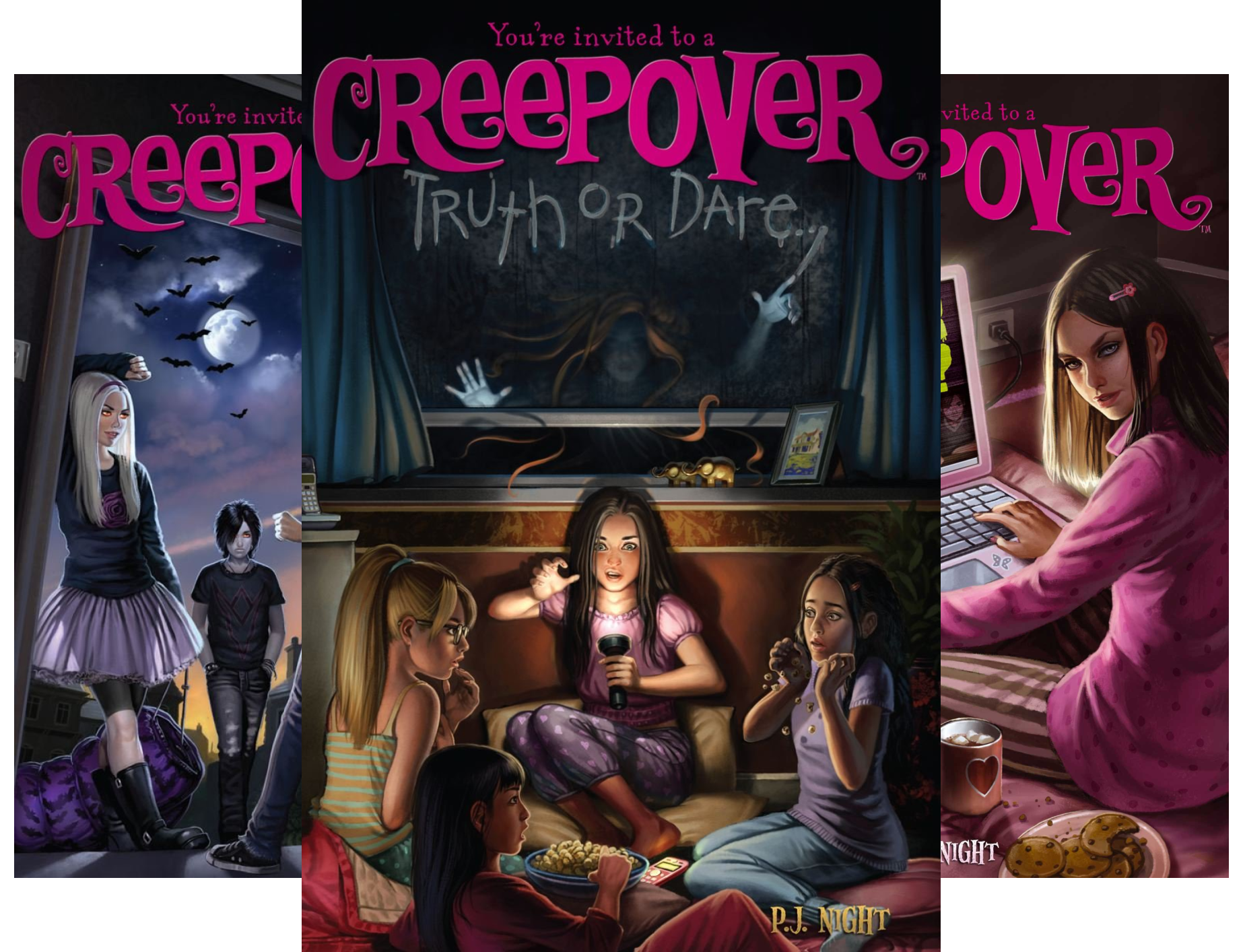 You're invited to a Creepover (22 Book Series)