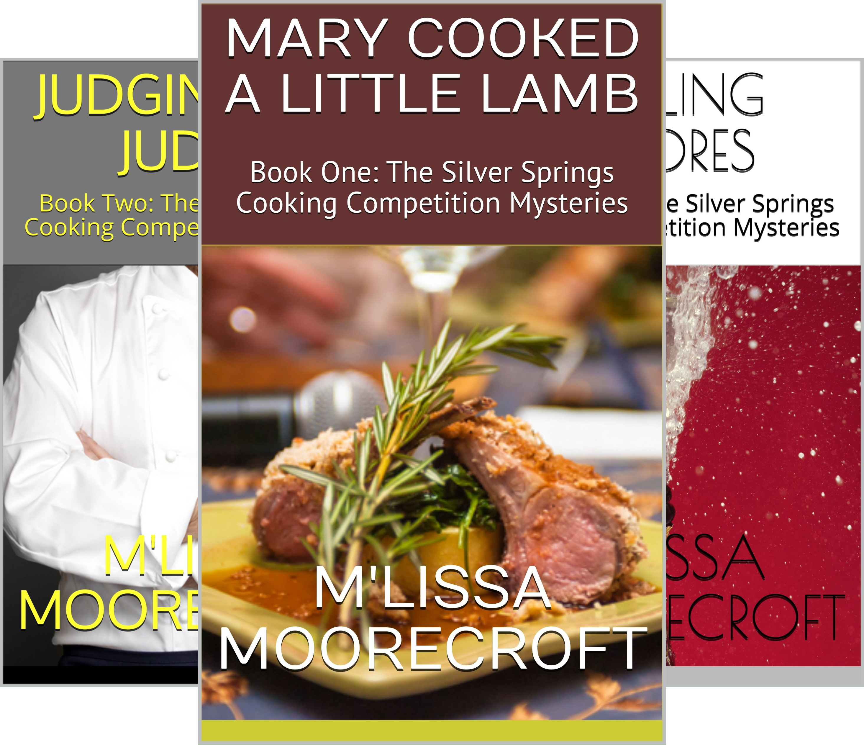 The Silver Springs Cooking Competition Mysteries (3 Book Series)