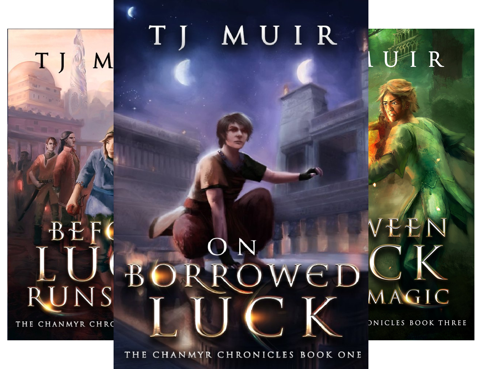 The Chanmyr Chronicles (3 Book Series)