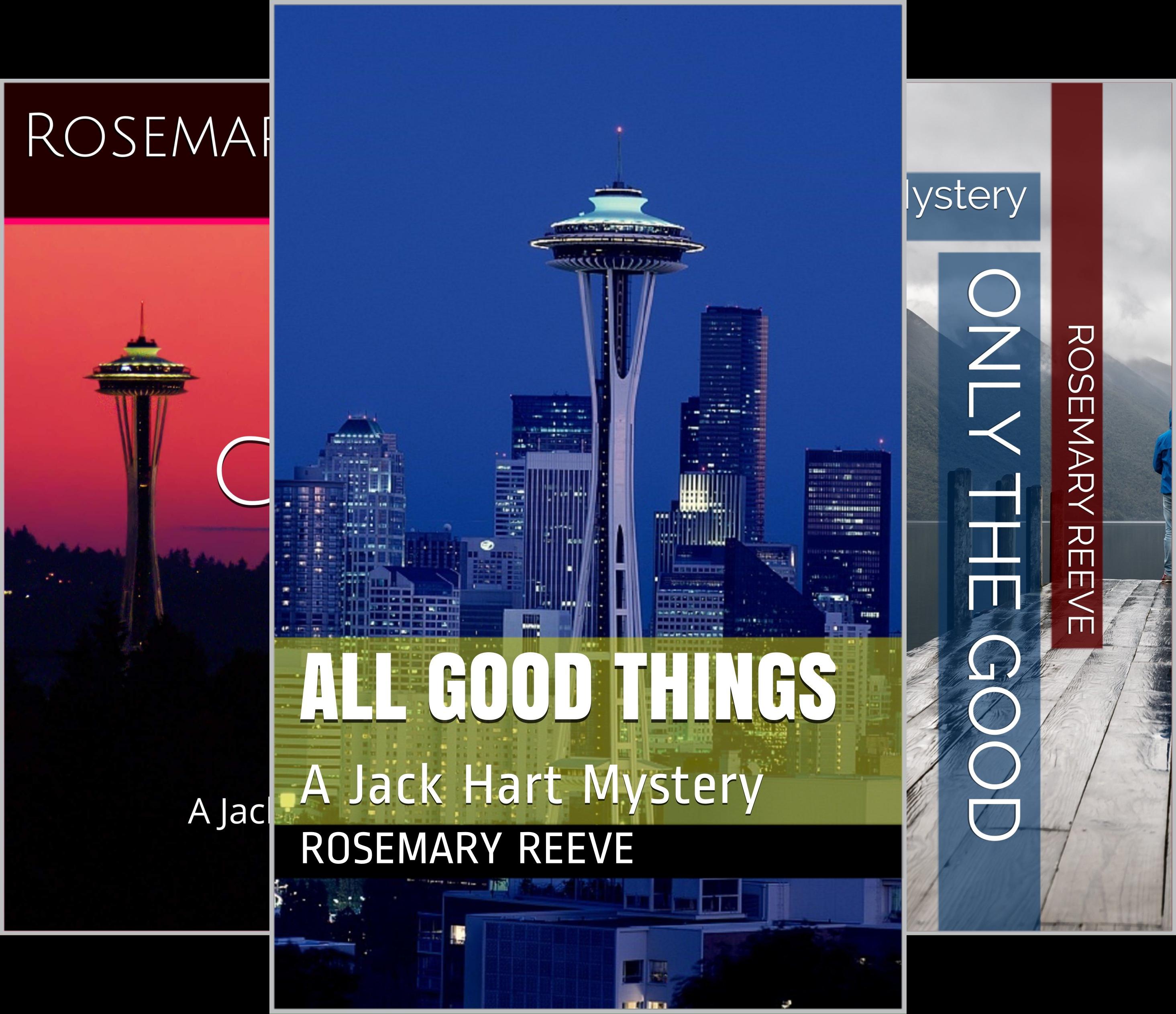 Jack Hart Mysteries (4 Book Series)