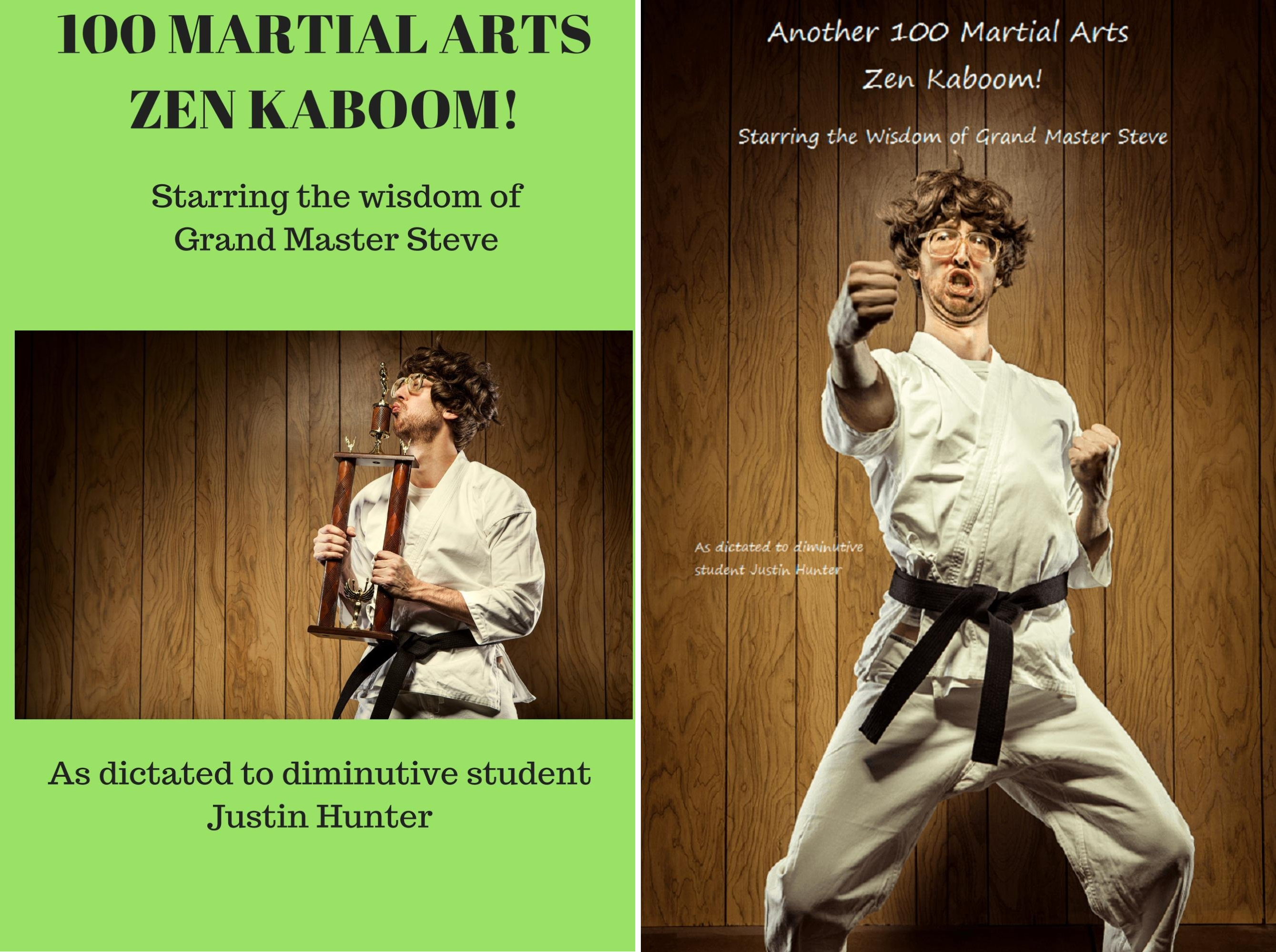 100 Martial Arts Zen Kaboom! (2 Book Series)