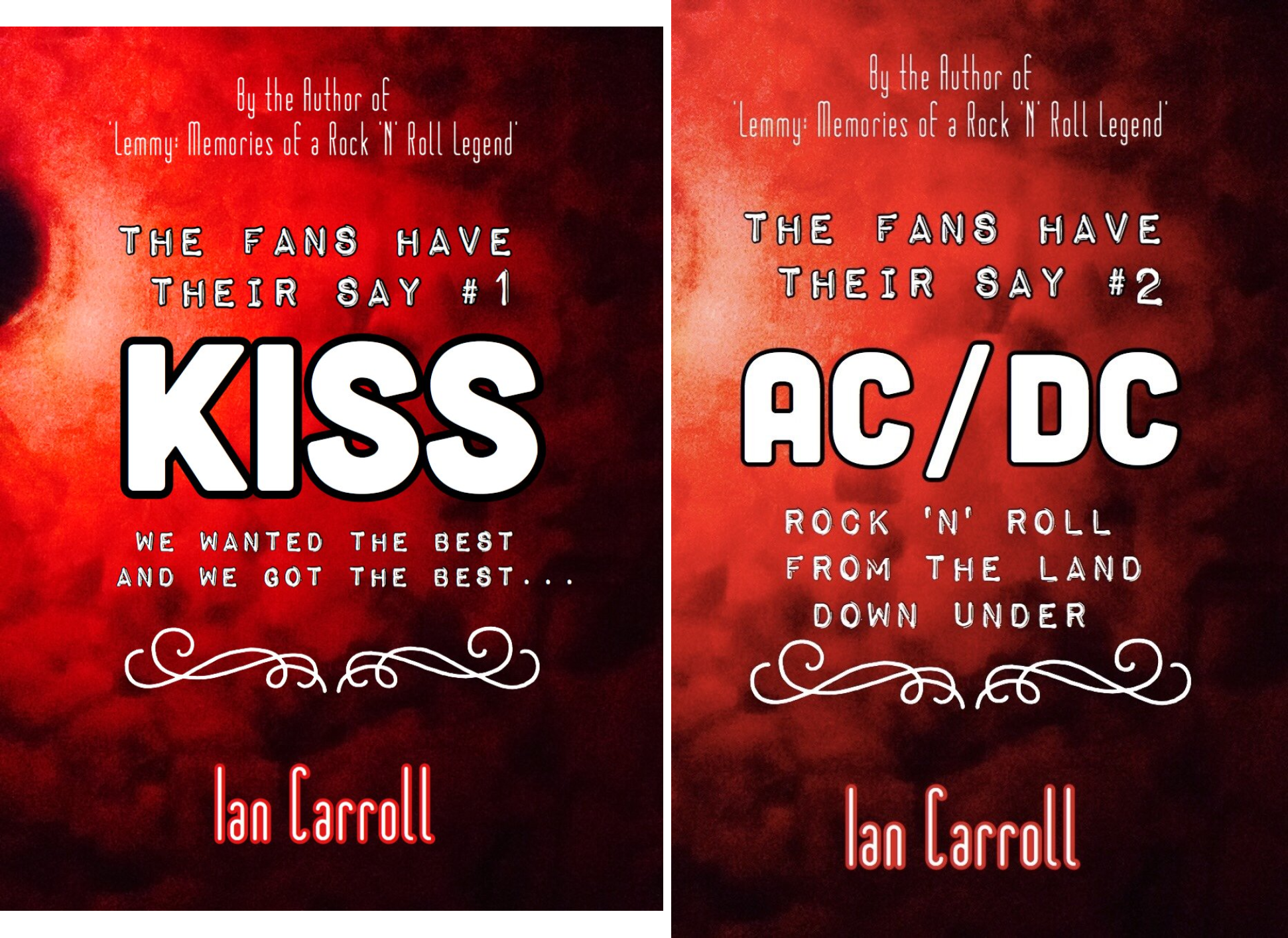 The Fans Have Their Say (2 Book Series)