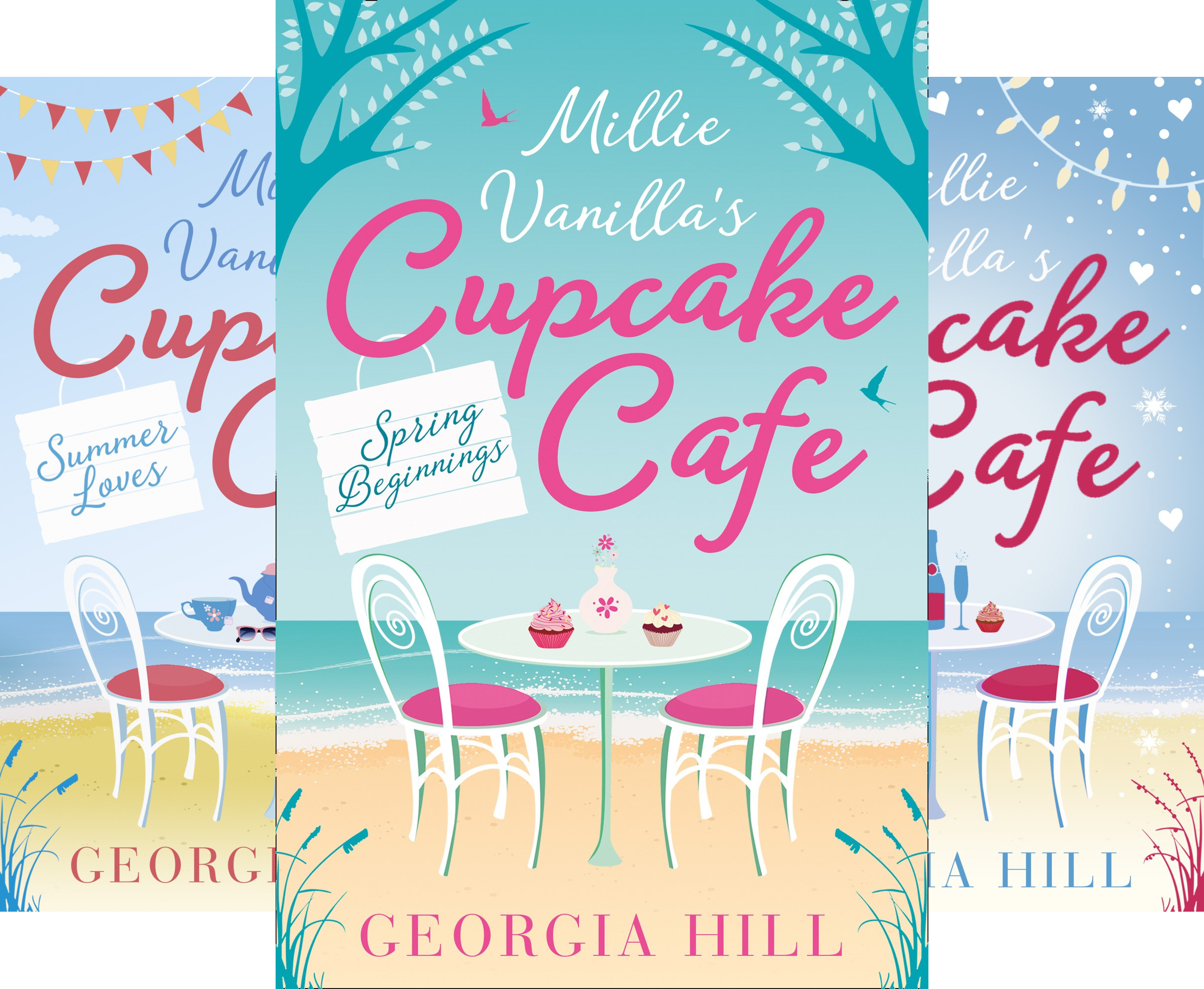 Millie Vanilla's Cupcake Cafe (3 Book Series)