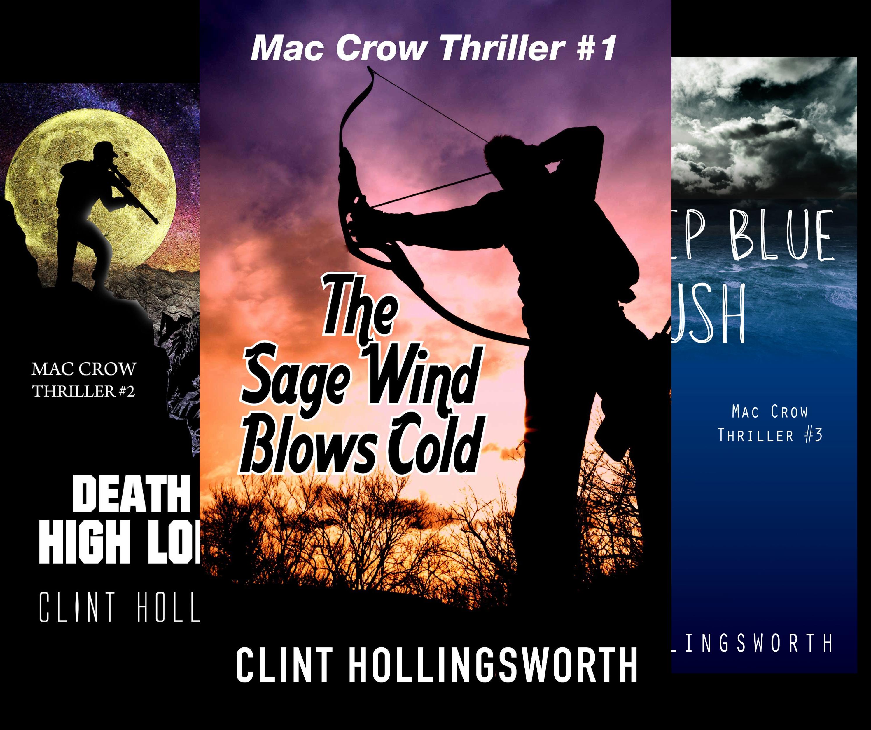 Mac Crow Thrillers (3 Book Series)