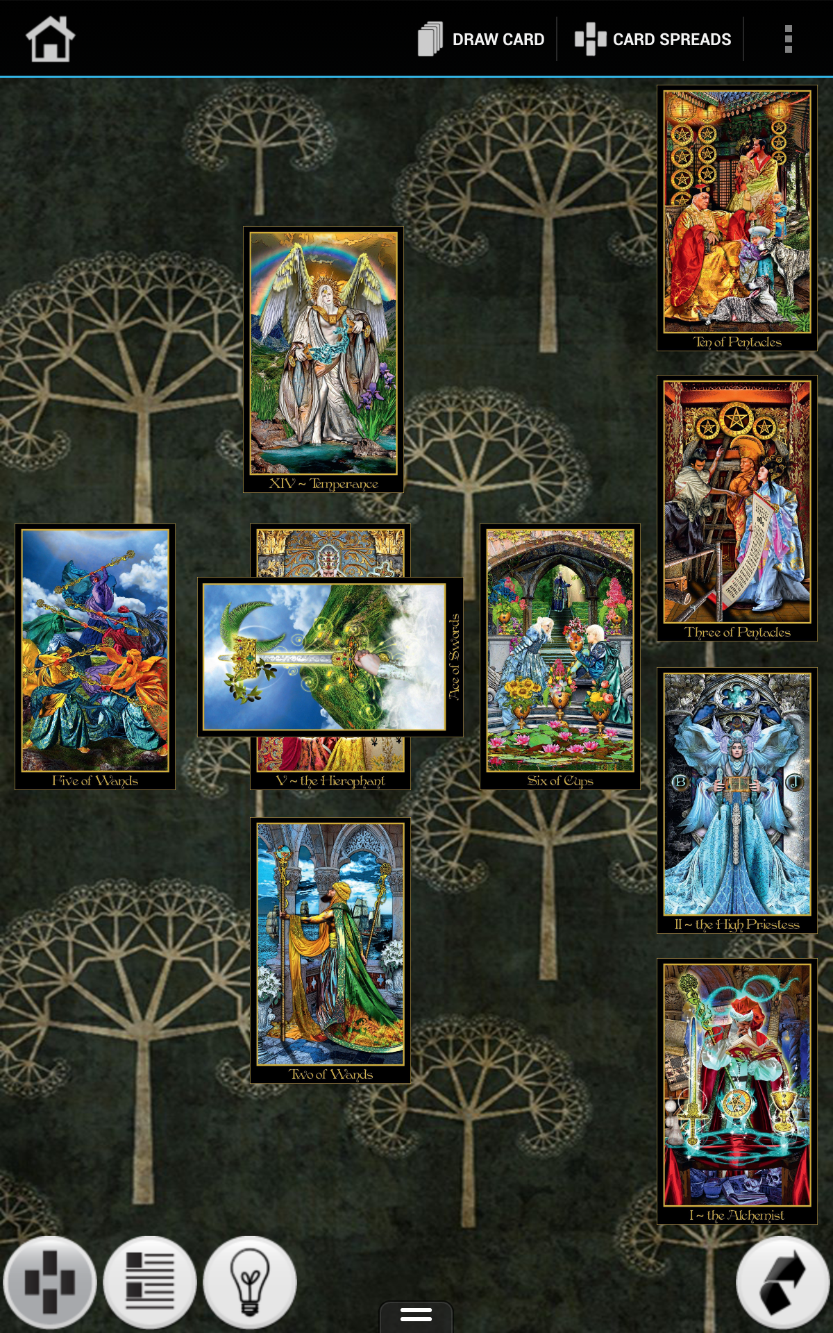 Amazon Com Tarot Illuminati Appstore For Android This indicates a period of mutual love, generosity between partners and a time of pure romance speckled with innocence. tarot illuminati