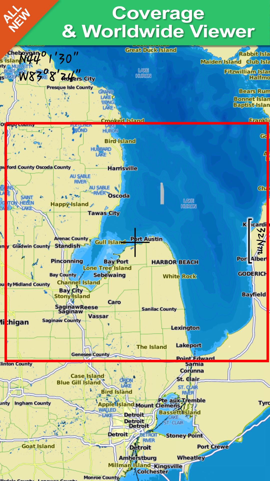 Saginaw Bay Gps Map Navigator: Amazon.es: Appstore para Android