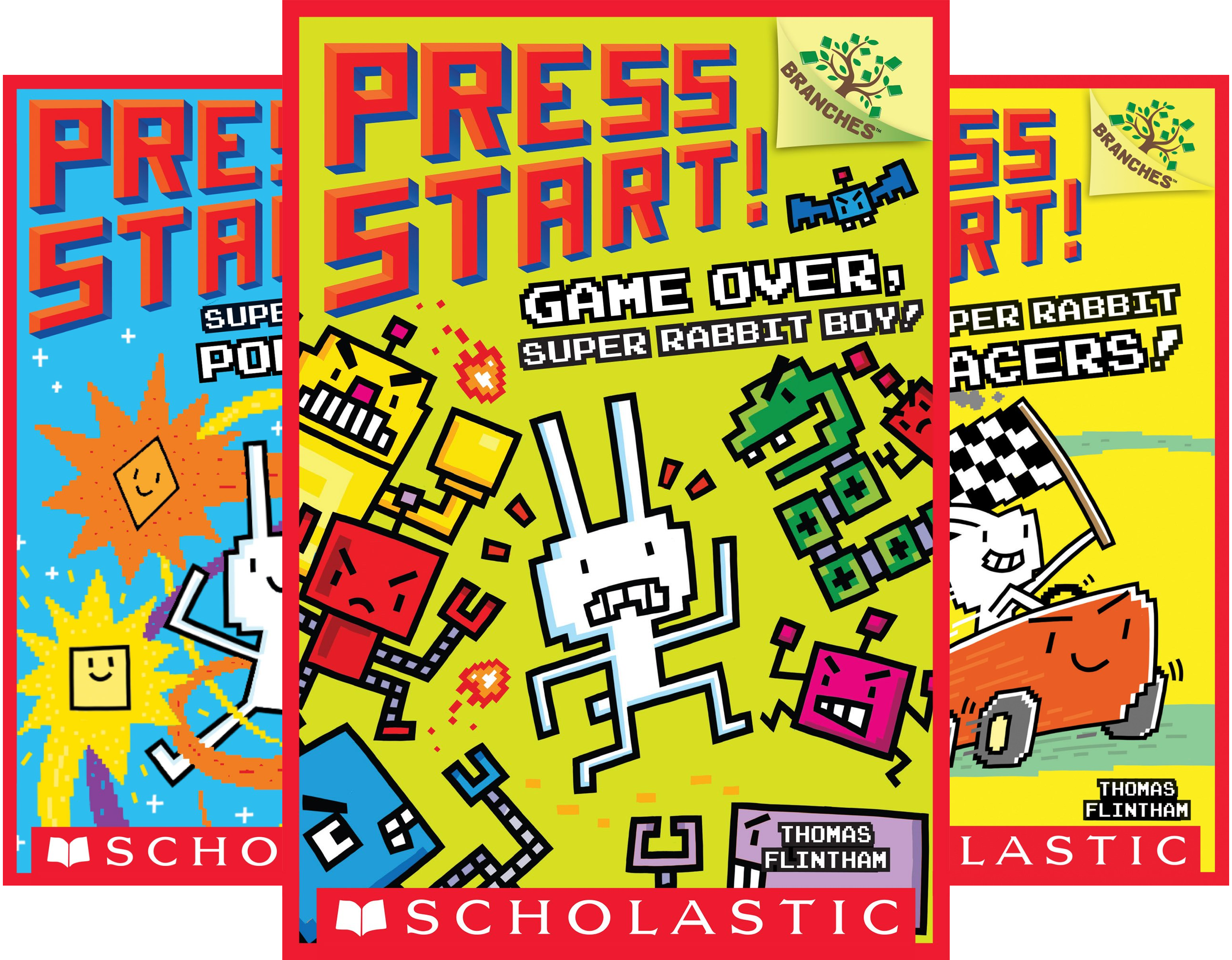 Press Start! (7 Book Series)
