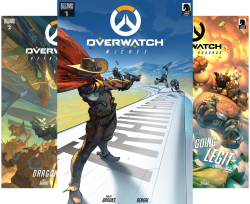 Overwatch (Issues) (12 Book Series) by  Robert Brooks Andrew Robinson Micky Neilson Michael Chu Matt Burns Joelle Sellner