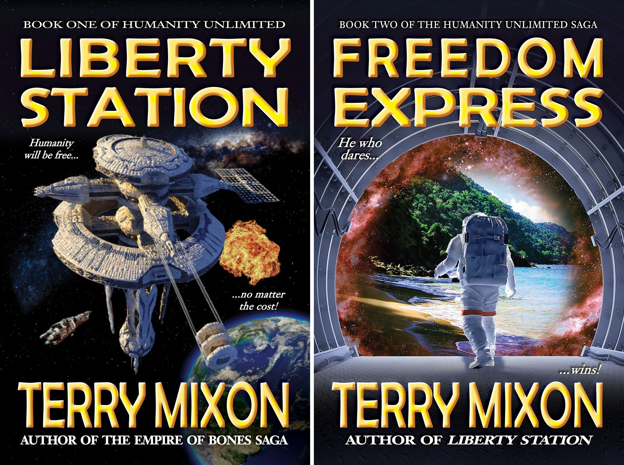 The Humanity Unlimited Saga (2 Book Series)
