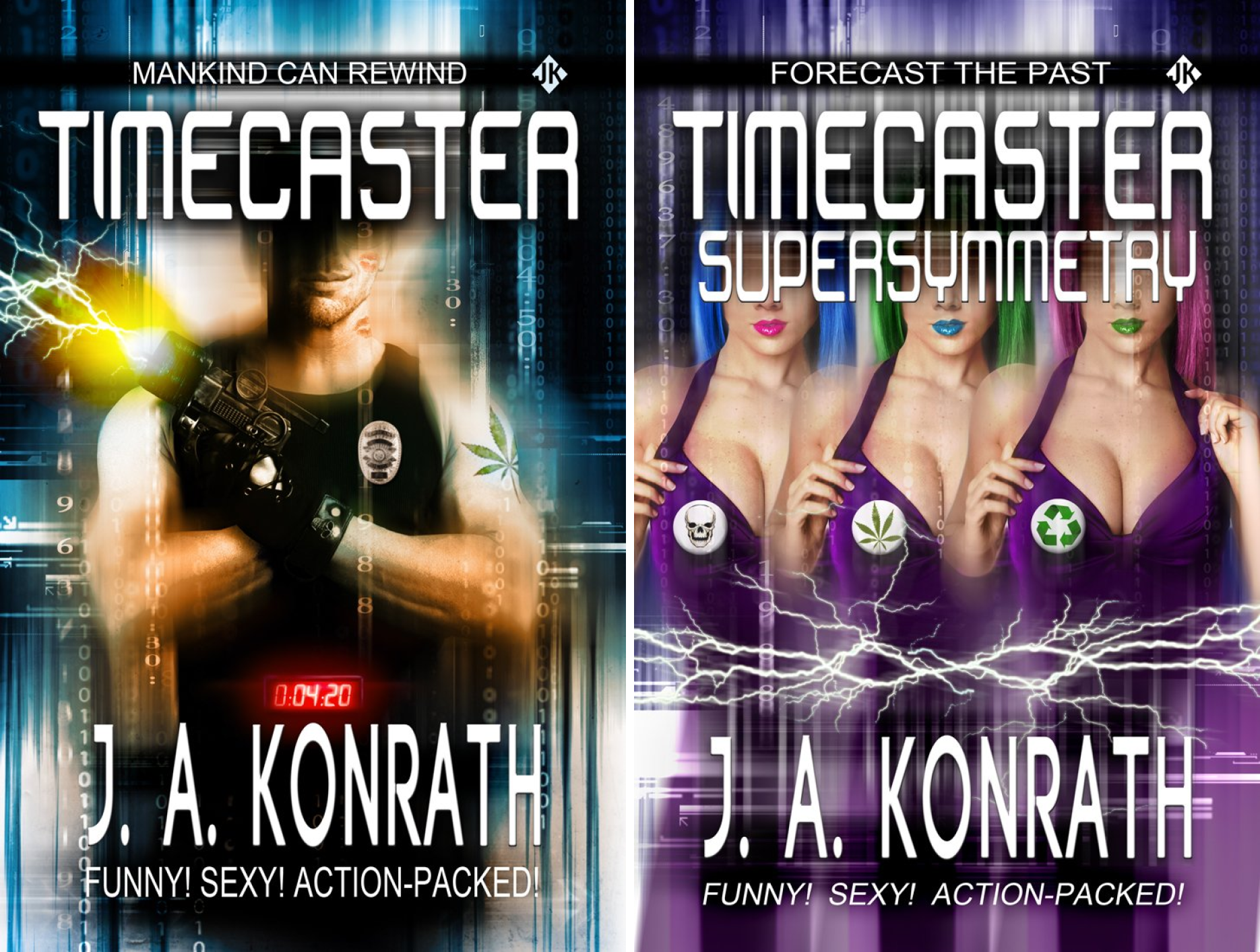 Insane Sci-Fi Action! (2 Book Series)