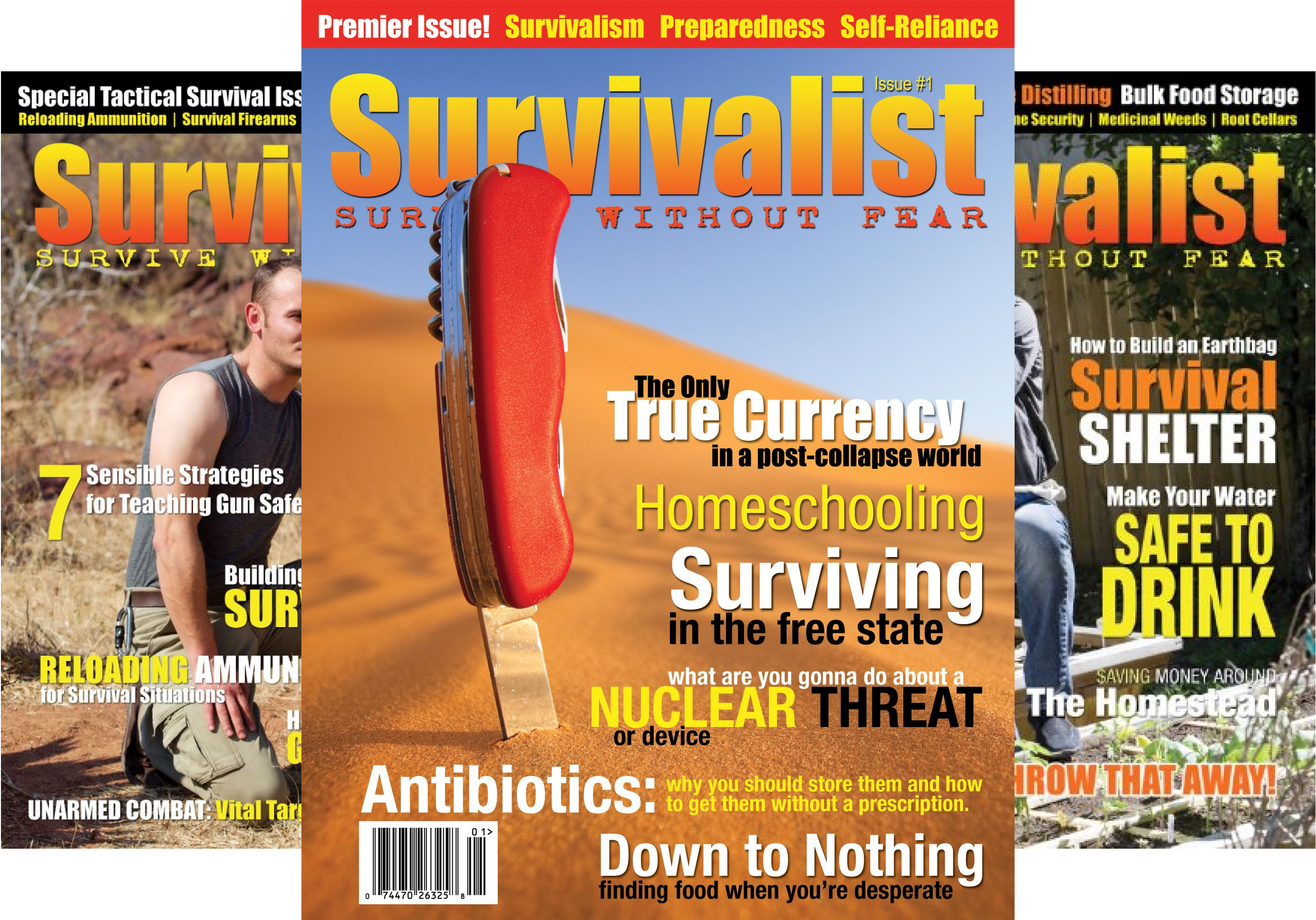 Survivalist Magazine (27 Book Series)