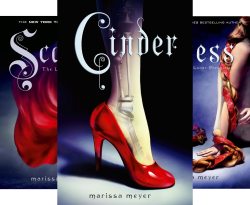 The Lunar Chronicles (3 books) by Marissa Meyer