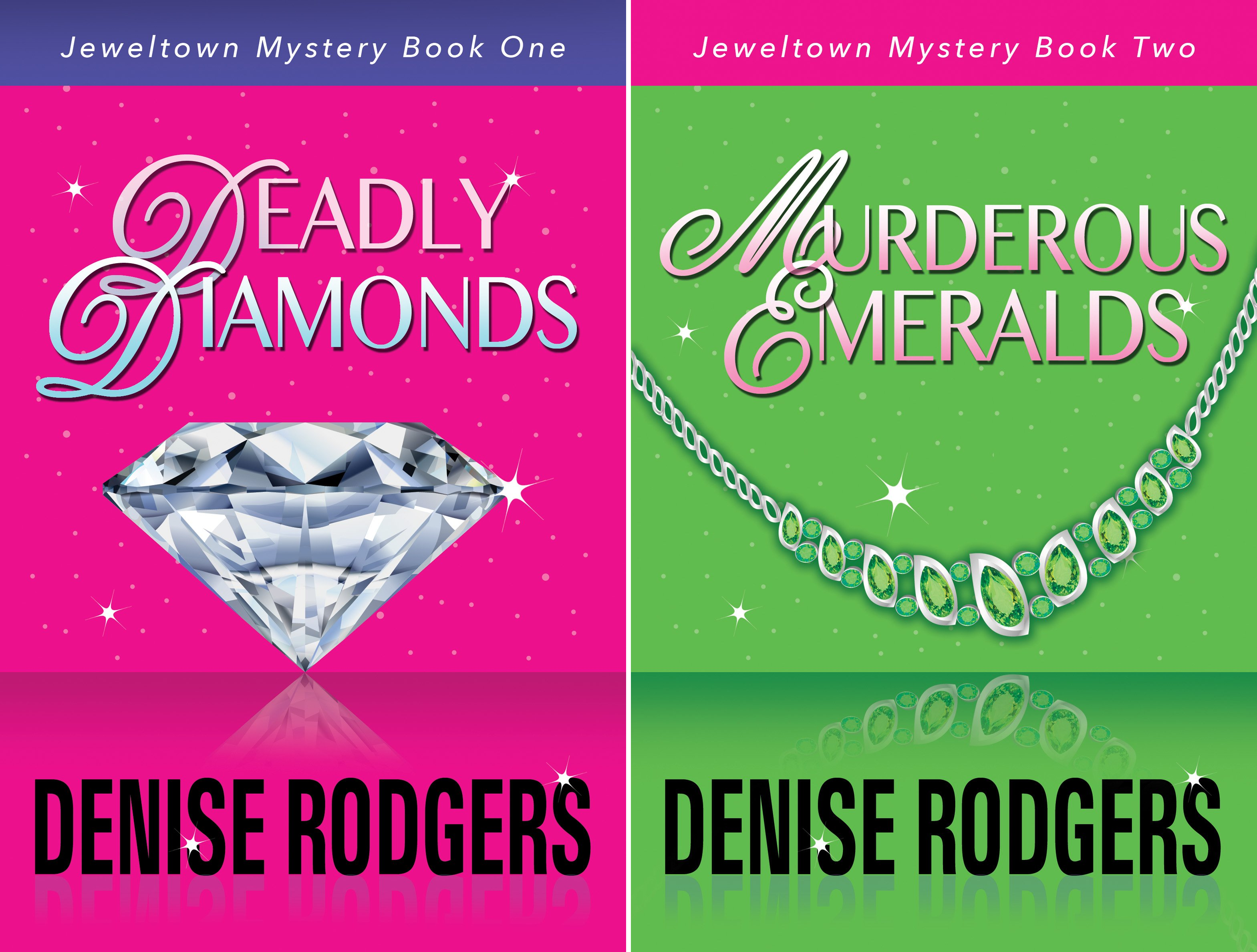 Jeweltown Cozy Murder Mystery (2 Book Series)