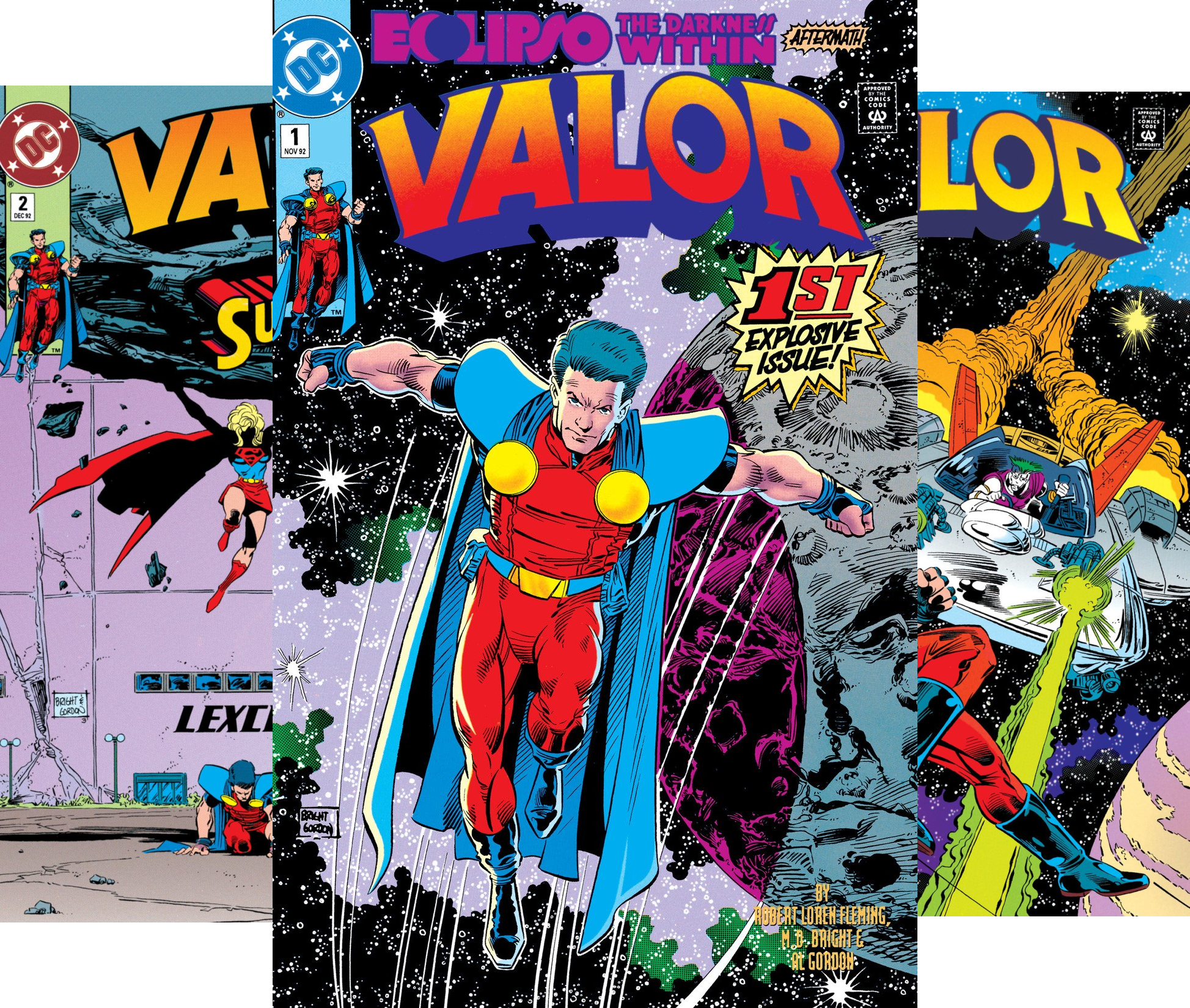 Valor (1992-1994) (Issues) (22 Book Series)