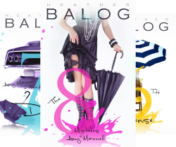 Amy Maxwell Series (3 Book Series) by  Heather Balog