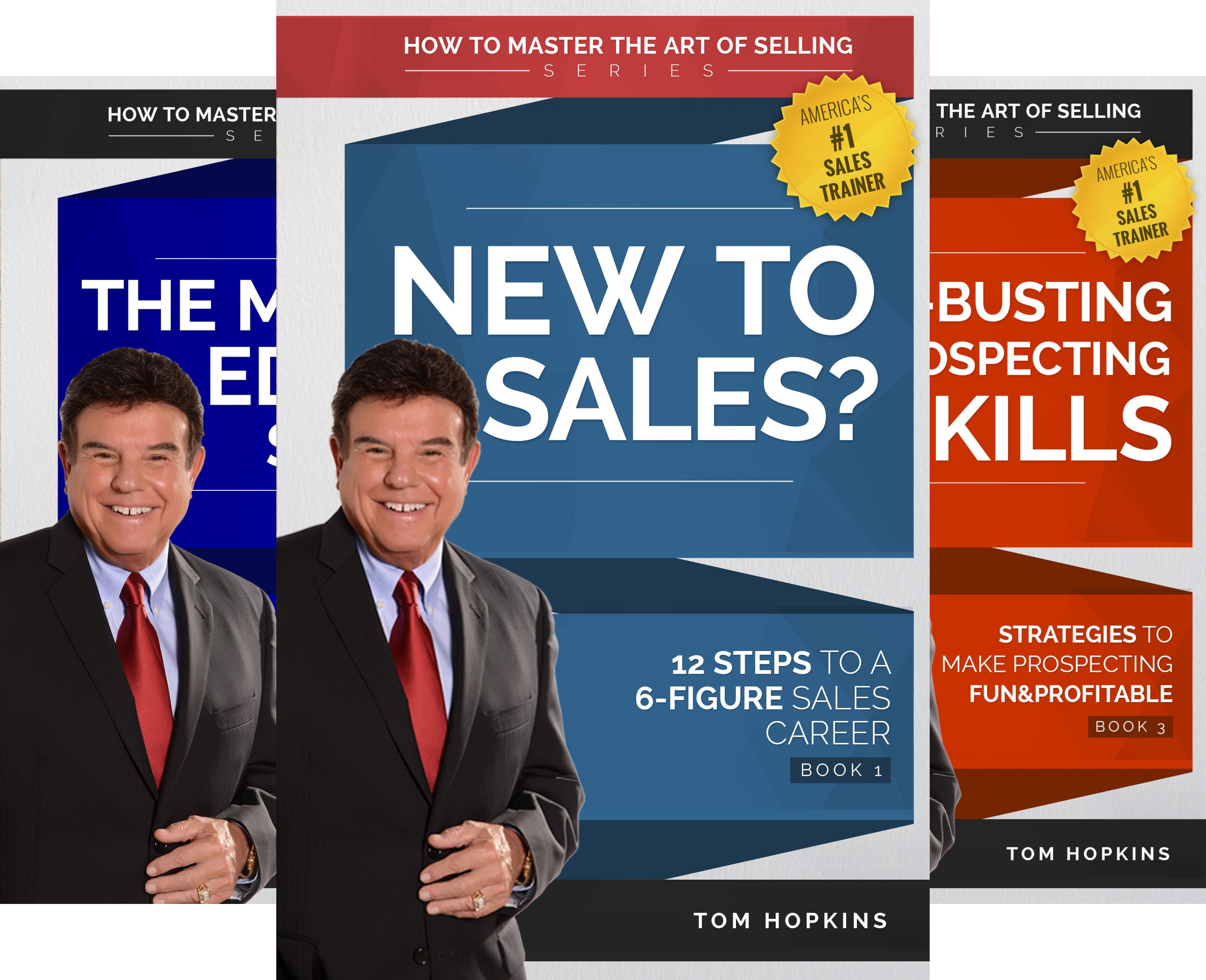 How to Master the Art of Selling (6 Book Series)