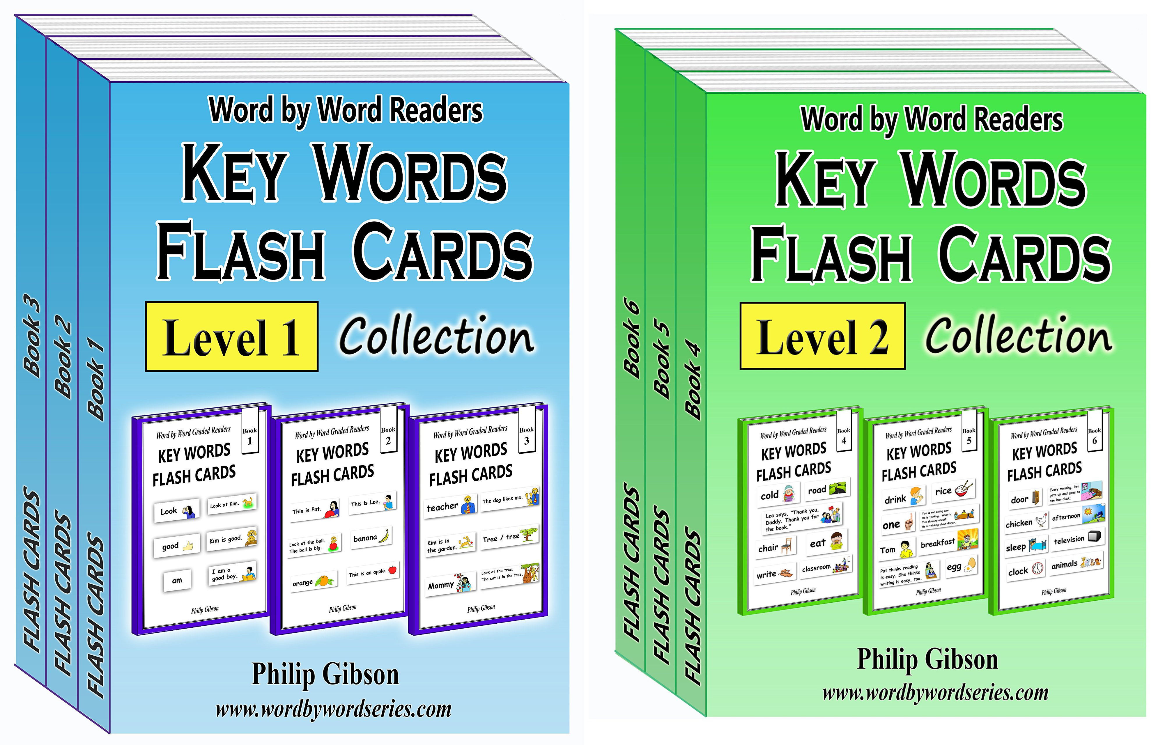 Key Words Flash Card Collections (2 Book Series)