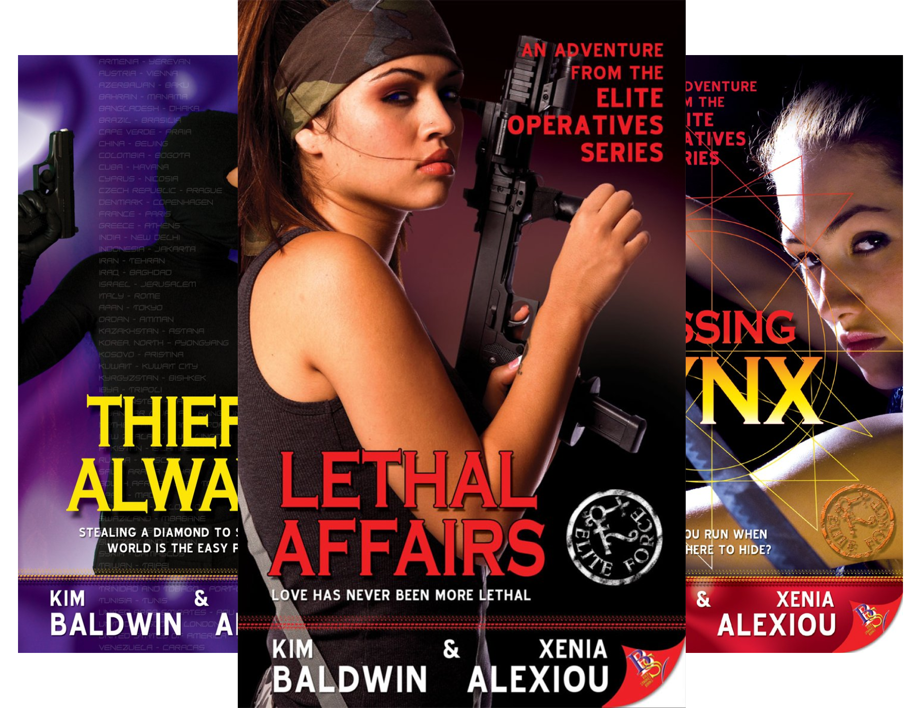 Elite Operatives series (7 Book Series) Pdf