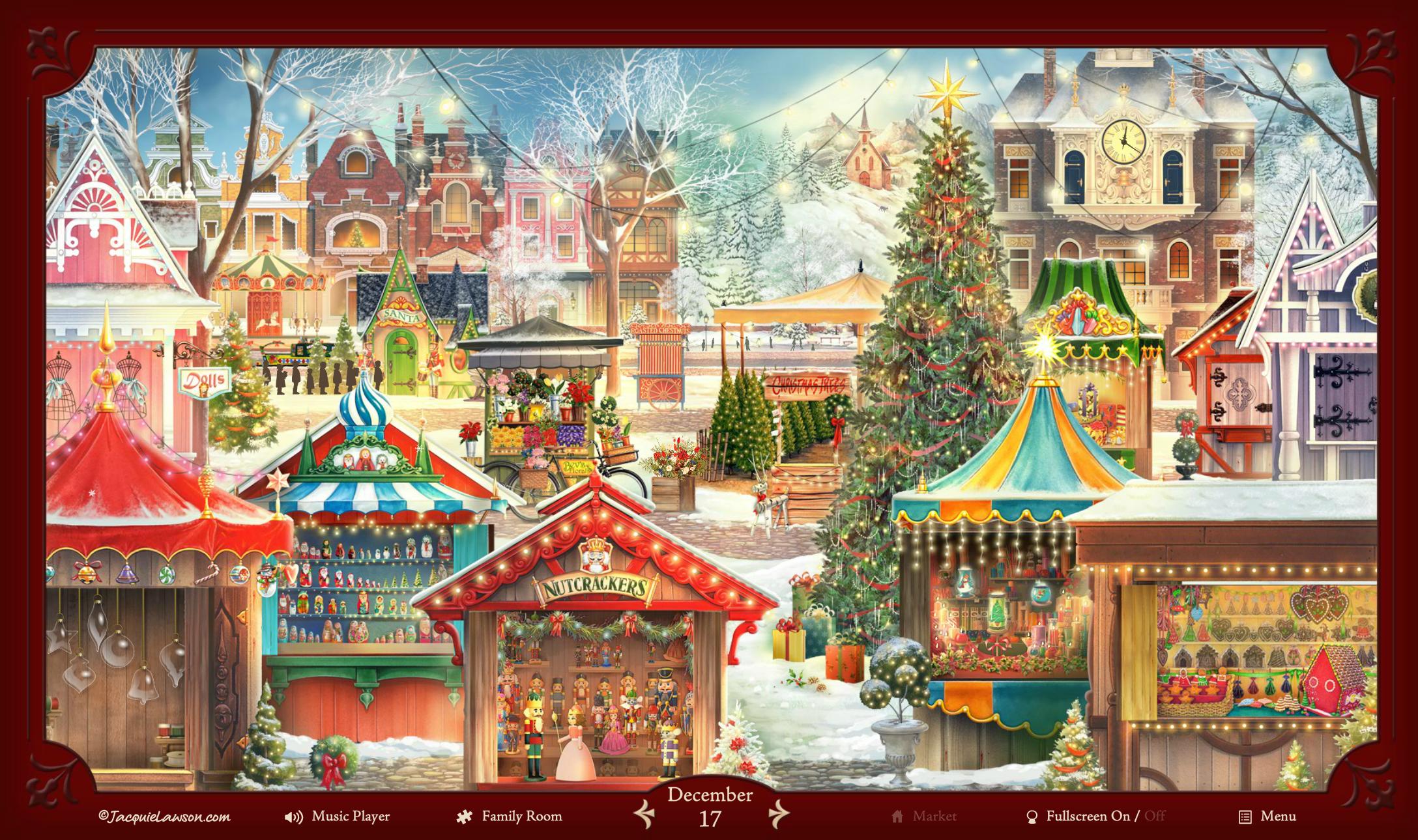 Amazon Jacquie Lawson Christmas Market Advent Calendar Online Code Software