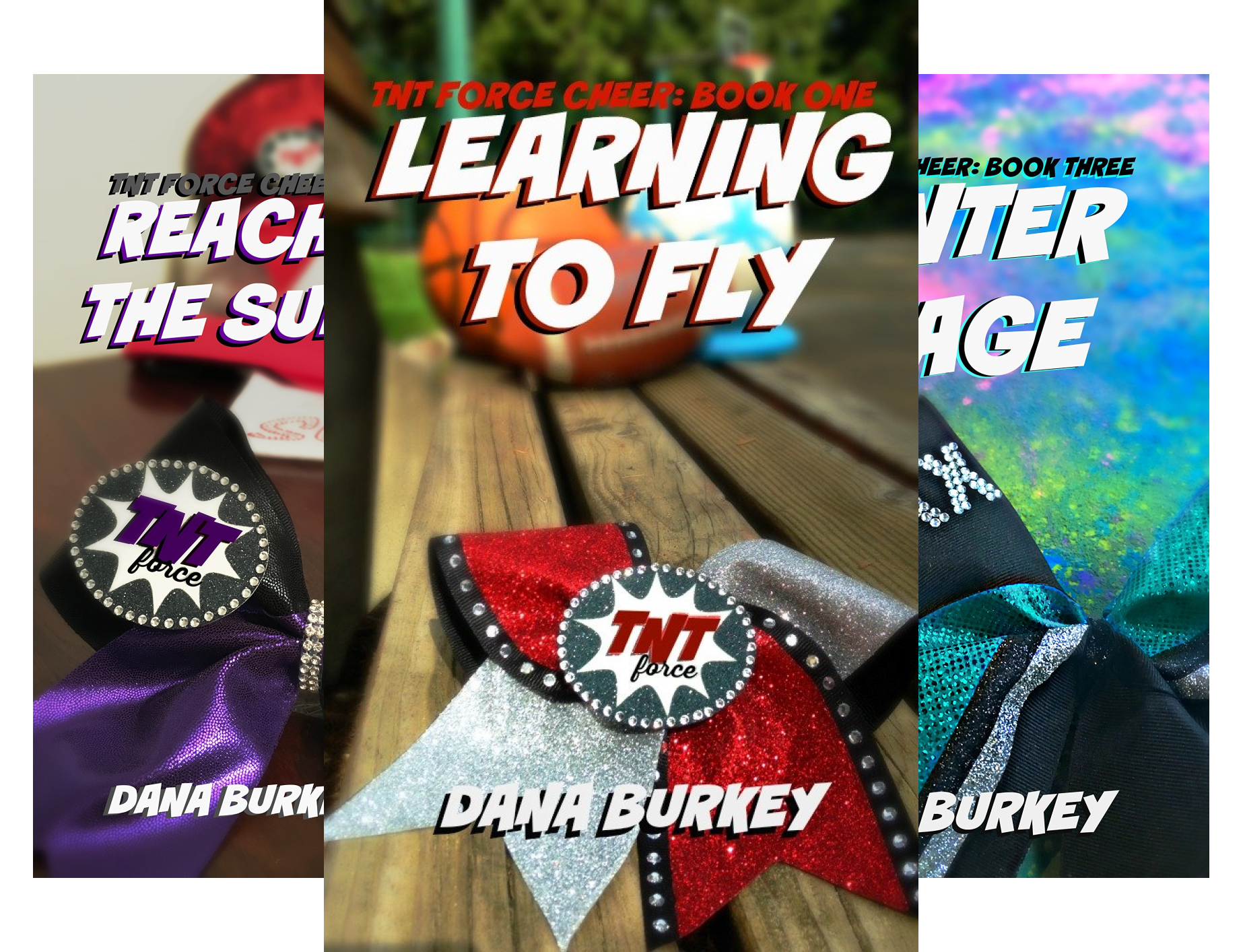 TNT Force Cheer (5 Book Series)