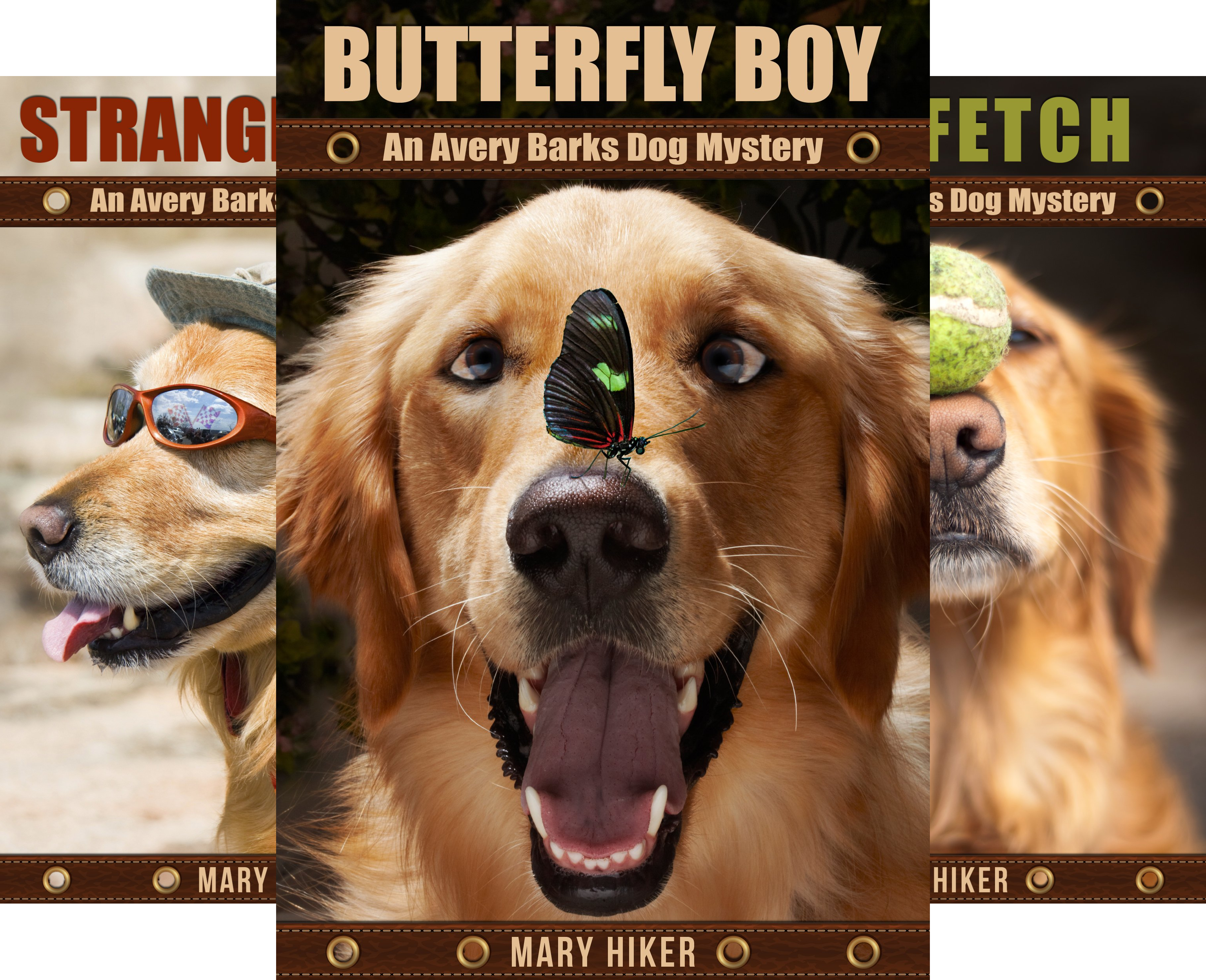 Avery Barks Cozy Dog Mysteries (10 Book Series)