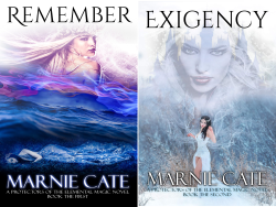 A Protectors of the Elemental Magic Novel (2 Book Series) by  Marnie Cate