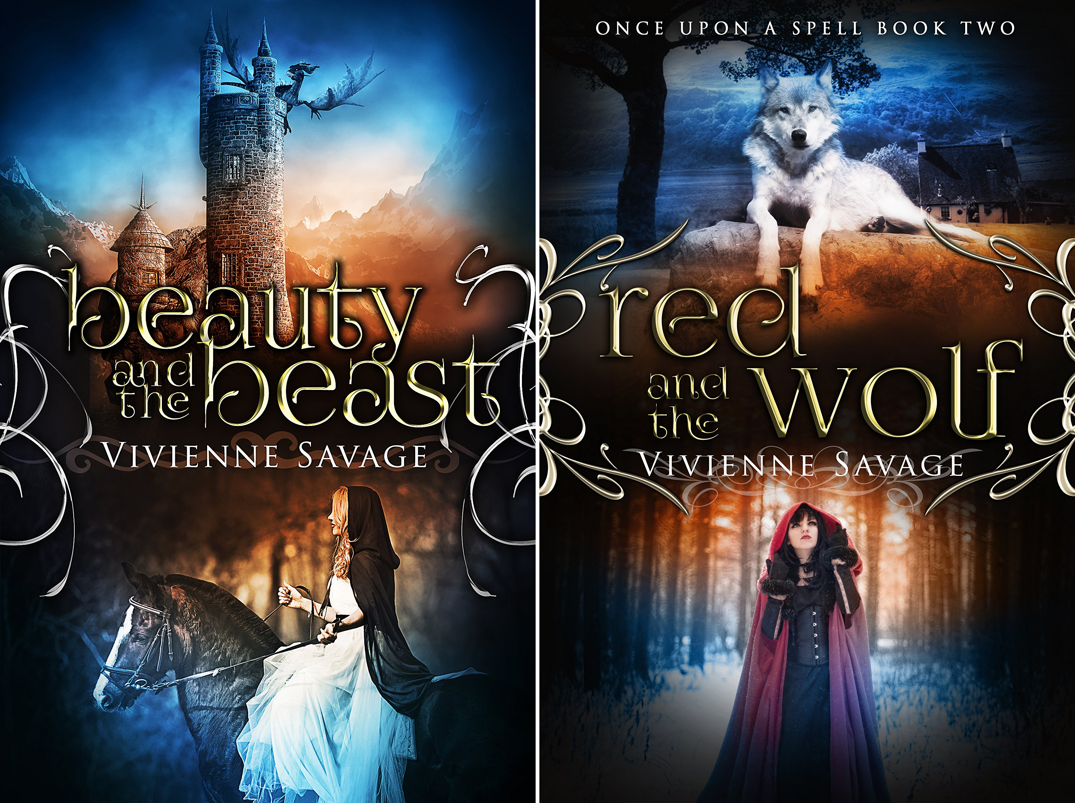Once Upon a Spell (2 Book Series)