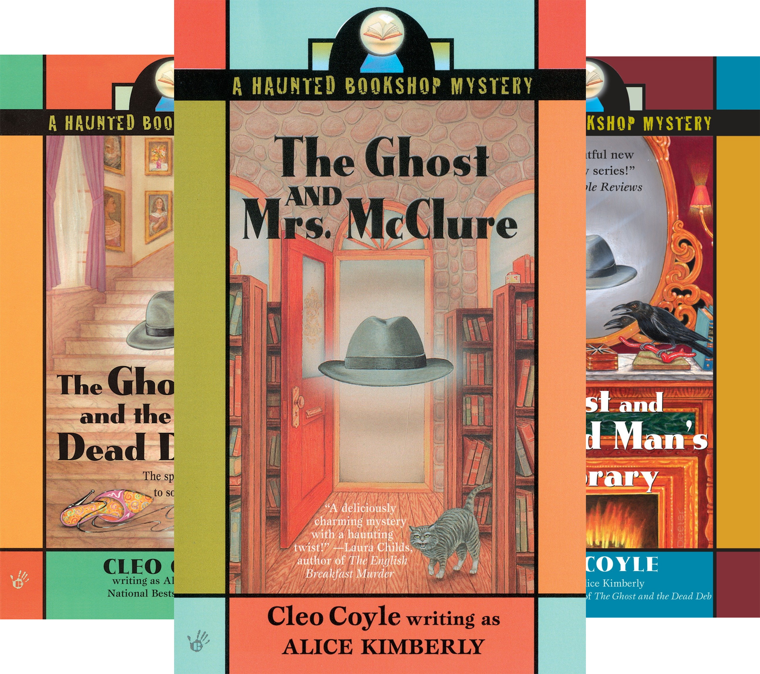 Haunted Bookshop Mystery (6 Book Series)