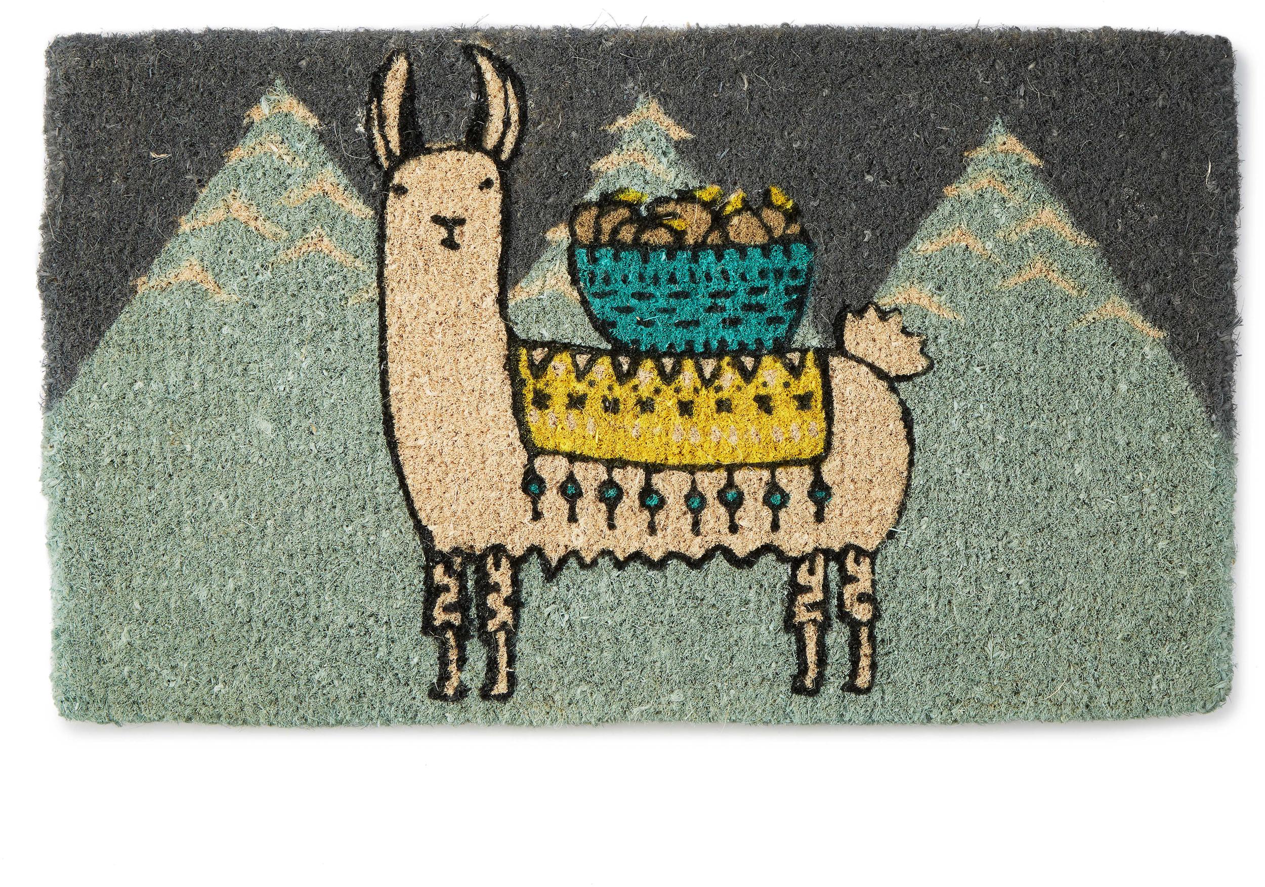 Larry the Llama Doormat | Fun Llama Doormat | UncommonGoods