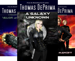 A Galaxy Unknown (9 Book Series) by  Thomas DePrima